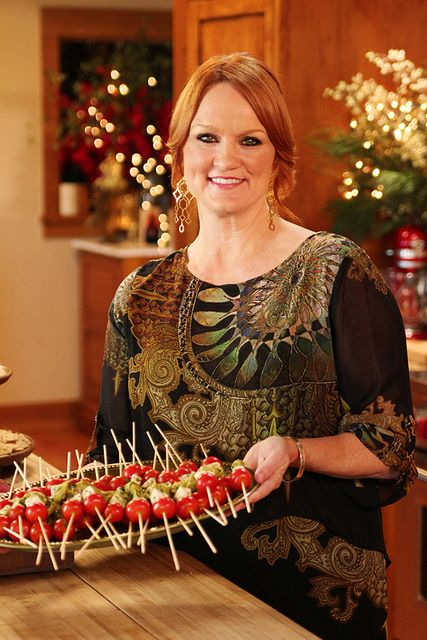 Food from the Christmas Show! via The Pioneer Woman  Ree Drummond, you're my hero!