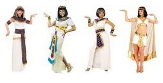 egyptian queen cleopatra costumes