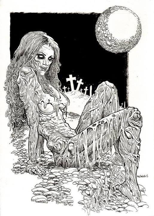 Rob Sacchetto's Zombie Art