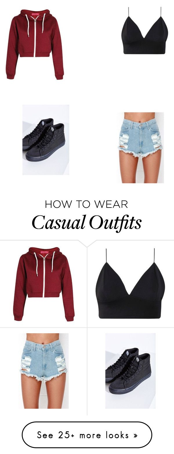 """""""casual"""" by claudiam006 on Polyvore featuring Vans"""