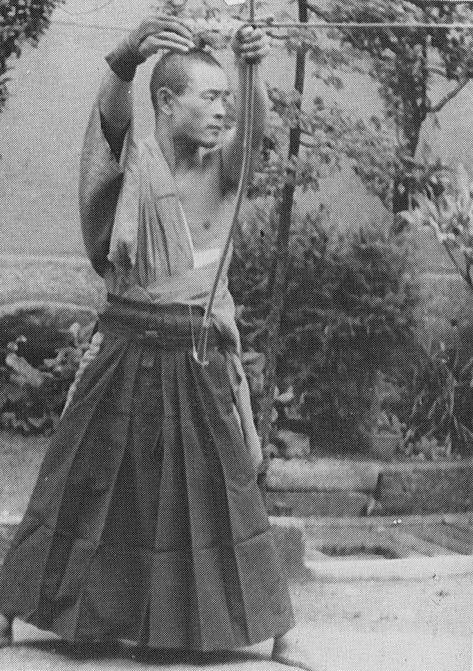 Kyudo (the way of the bow) - Japanese archery