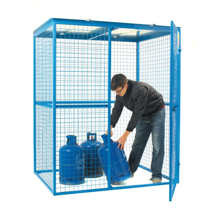 Gas Cylinder Lock Up Security Cage