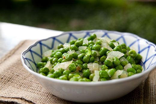 Low Salicylate Simple Peas and Onions (sub white pepper for black, leeks for…