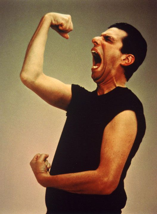 Sha Na Na... met him once at a car show in kansas city, mo. that fist really did fit in his mouth...