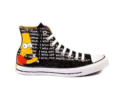 Converse All Star Hi Bart Athletic Shoe