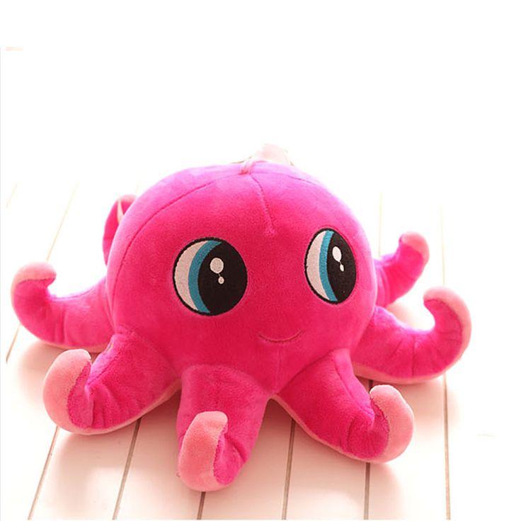 1 Pcs 2016 Christmas Gift Kawaii Octopus Plush Toys Stuffed&Plush Animal Spongebob Kids Doll Soft Octopus Toys for Children //Price: $US $3.39 & FREE Shipping //     #toys