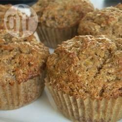 Photo de recette : Muffins au son et bananes