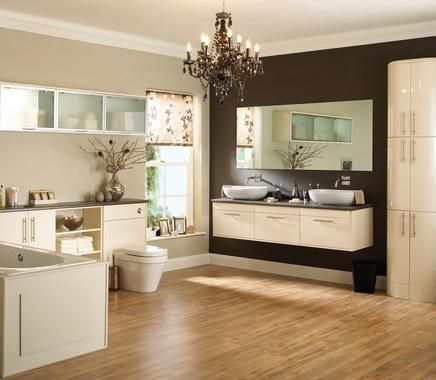 Glendevon Cream | Bathroom Cabinet Collection | Bathroom Cabinets | Howdens Joinery