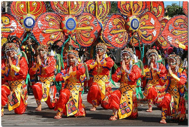 Kadayawan festival, a celebration of life, thanksgiving for the gifts of nature, the wealth of culture, the bountiful of harvest and the serenity of living, Davao, Phillipines.