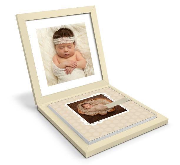 Graphistudio | Babybook | cream shades for #newborn #portraitphotography