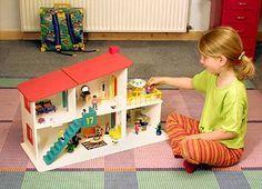Puppenhaus aus Holz zum selber bauen   DIY Dollhouse