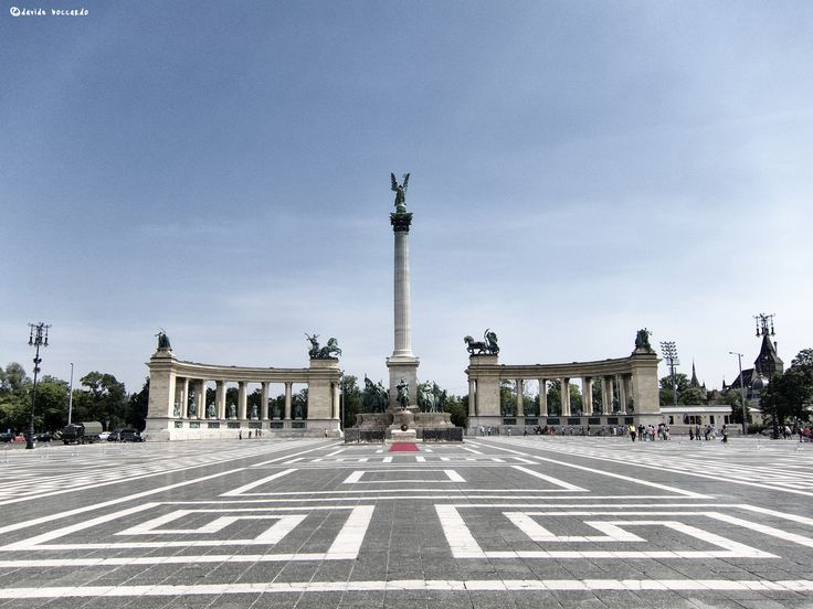 Heroes Square, Budapest by Davide Boccardo on 500px