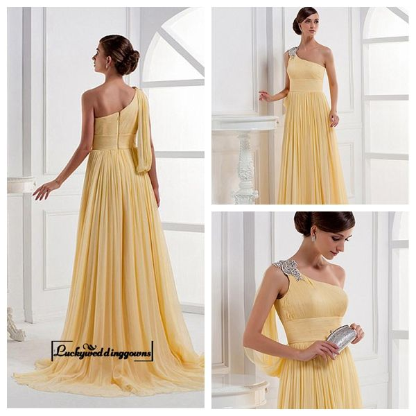 Alluring Chiffon A-line Embroidery Beaded One Shoulder Sleeve Floor Length Evening Dress http://www.ckdress.com/alluring-chiffon-aline-embroidery-beaded-one-shoulder-sleeve-floor-length-evening-dress-p-1268.html  #wedding #dresses #party #Luckyweddinggown #Luckywedding #design #style #weddingdresses #bridaldresses #love #me #cute #beautiful #girl #shopping #lovely #clothes #instagood #follow #fashion