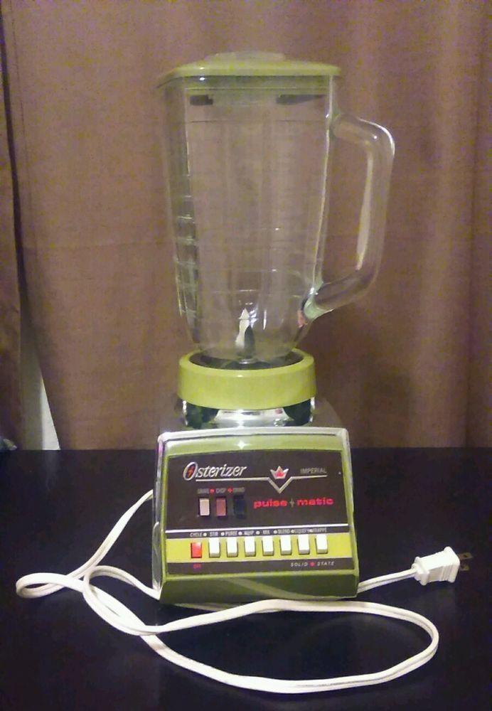 Vintage Osterizer Imperial Blender in Collectibles, Kitchen & Home, Kitchenware | eBay