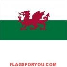 4' x 6' Wales High Wind, US Made Flag