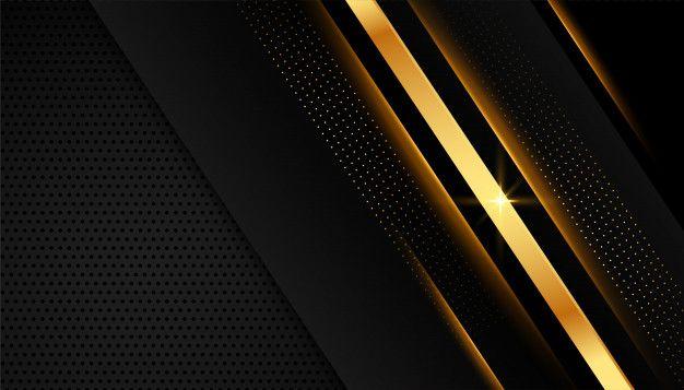 Download Elegant Golden Lines On Dark Black Background For Free In 2021 Dark Blue Background Geometric Background Black Backgrounds