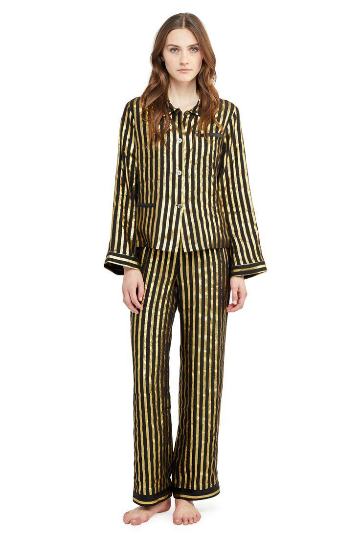 Morgan Lane Chantal Gold Noir $268 $187