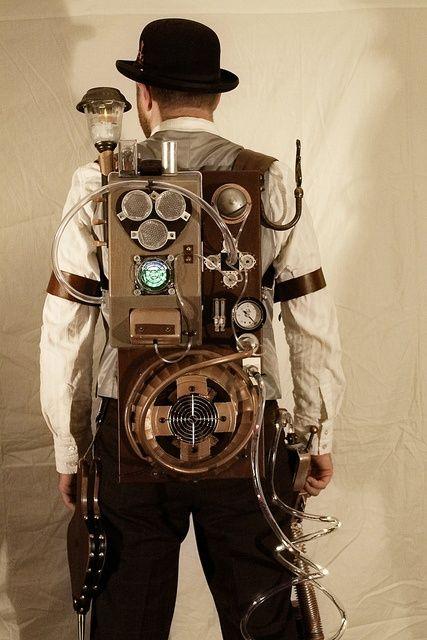 #SteamPUNK.... steampunk renal dialysis machine? That's kinda cool, but also weird.