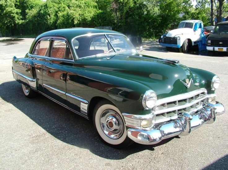 1000 images about i love cadillacs on pinterest for 1949 cadillac 4 door sedan