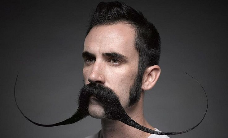 long mustaches - mustache wax