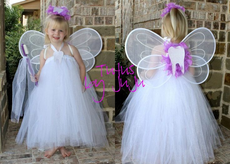 Tooth Fairy costume for children. #dentistry #teeth #dental costumes