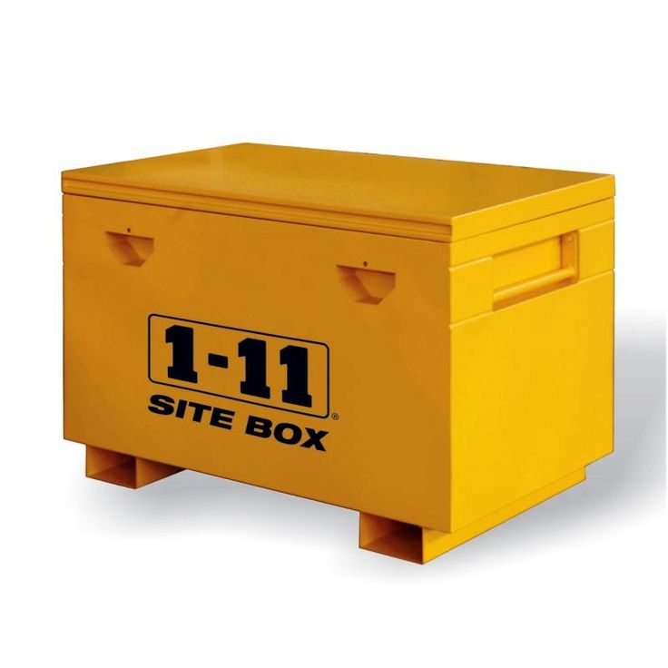 Site Box Heavy Duty (1220mm wide) by One Eleven