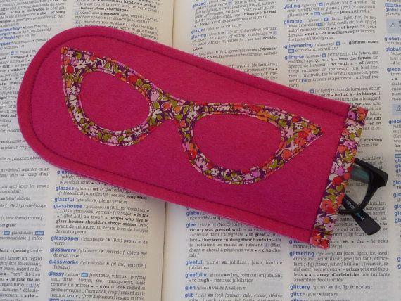 Felt Glasses Case