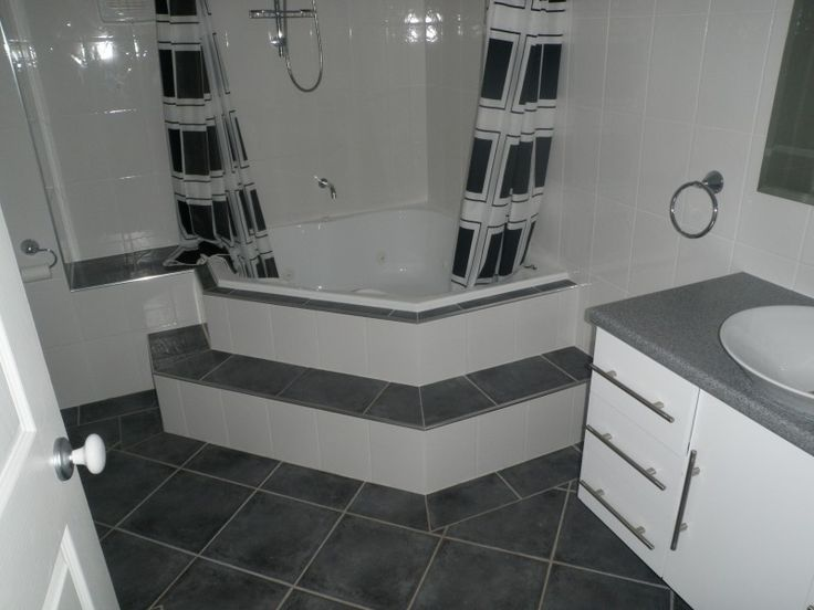 Bath Shower Spa Combination With Contemporary Bath Shower Combo Tile And Cool Black And White Shower Curtain Ideas
