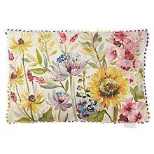 Buy Voyage Sunflower Cushion Online at johnlewis.com