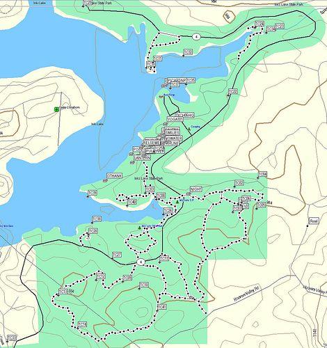 topo geocaching map hiking inkslake garmin centraltexasgeocachers waypoints inkslakestatepark texaschallenge2006 gcrhb6