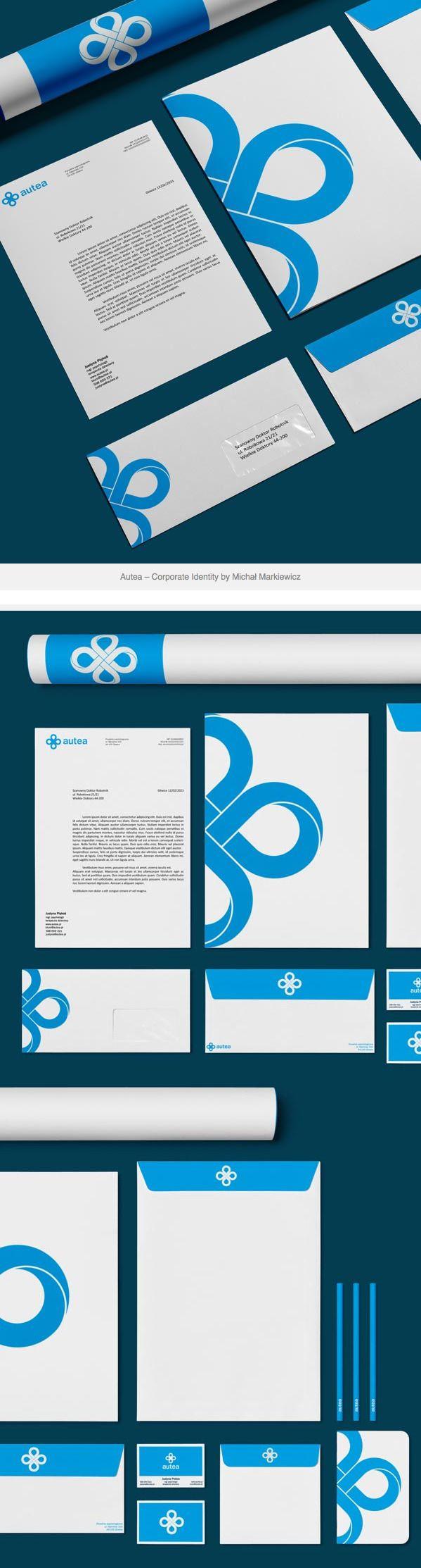Autea – Corporate Identity by Michał Markiewicz