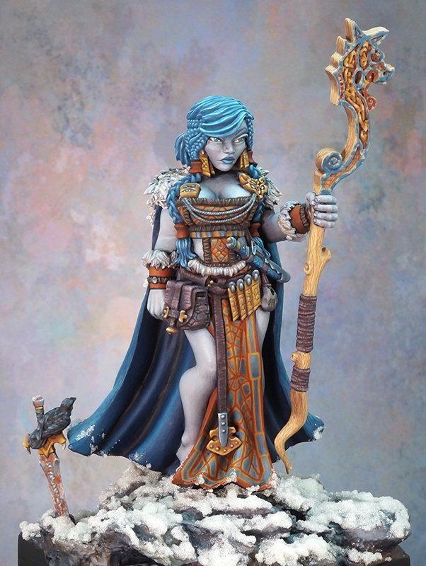 Bones Miniature (Frost Giant Queen 77592) Large Miniature
