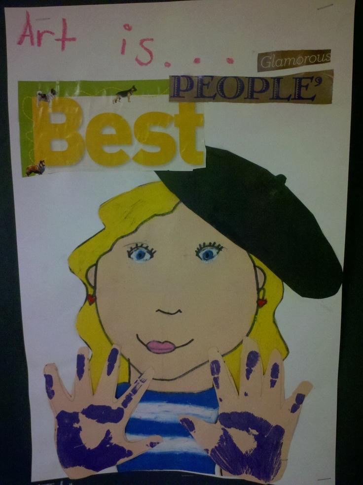3rd grade Self-Portrait.
