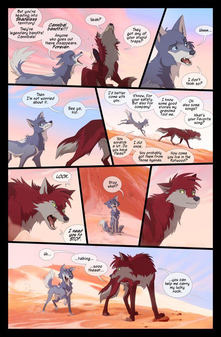 15+ Wolf comic information