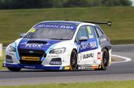 BTCC 2017: Snetterton  double wins for Subaru star Ashley Sutton Ashley Sutton takes two wins at Snetterton while Gordon Shedden leads the championship  Adrian Flux Subaru Racing's Ashley Sutton will be celebrating this evening after taking two of the day's three possible wins at Snetterton.  Sutton driving his Subaru Levorg briefly took the lead in the championship standings after race two but now sits in fourth place - well ahead of team-mate Jason Plato and with Rob Collard Colin…