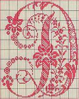 Ancient old cross stitch alphabet (4)