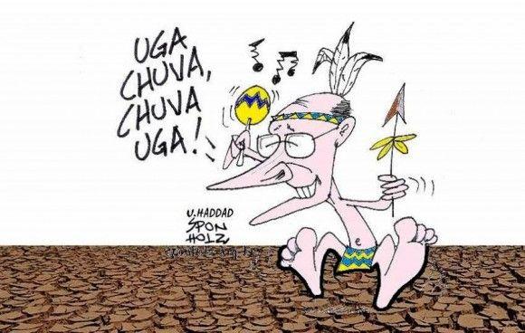 Alckmin e a dança da chuva