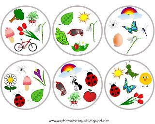 FUNGLISH: Spring Dobble