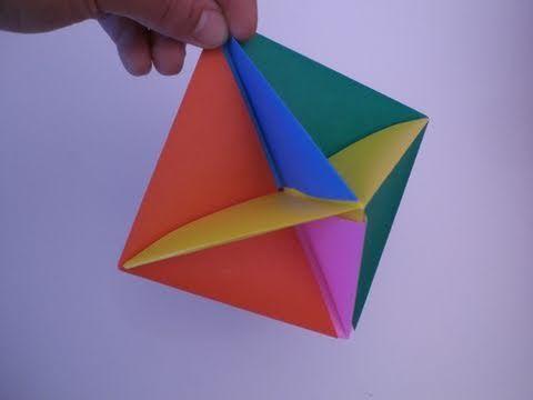 Origami executive toy - YouTube