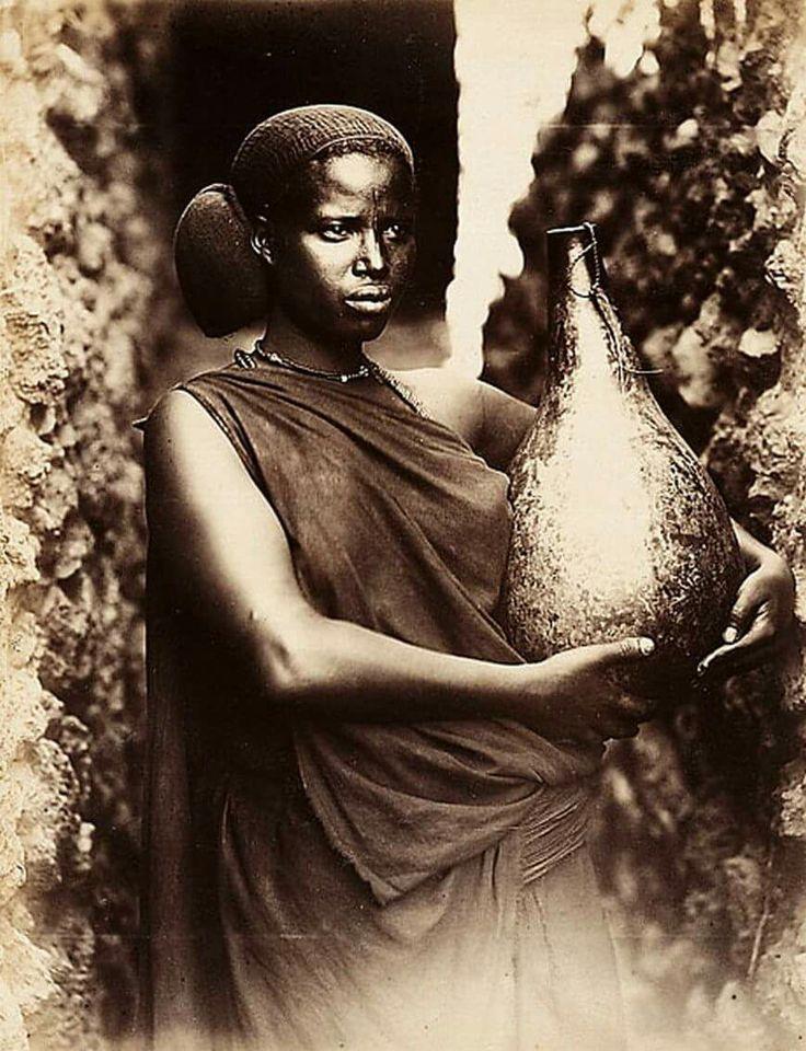 Oromo woman, 1888.