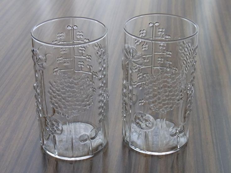 iittala vintage glasses - flora | Ach so ne