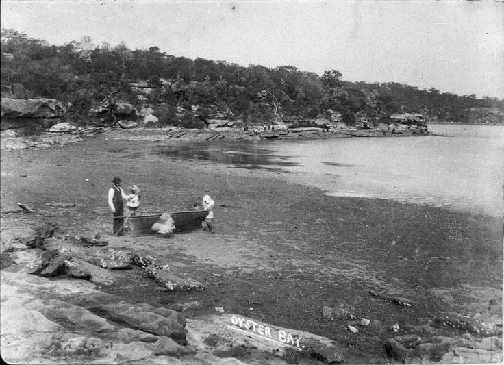 Oyster Bay in the Sutherland Shire of Sydney in 1880.