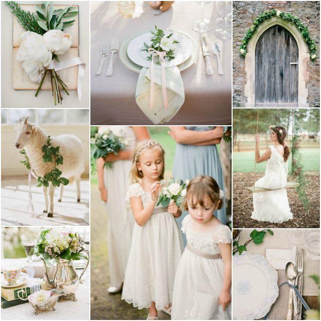 Inspiration Board: Vintage English Garden Wedding - Bajan Wed : Bajan Wed