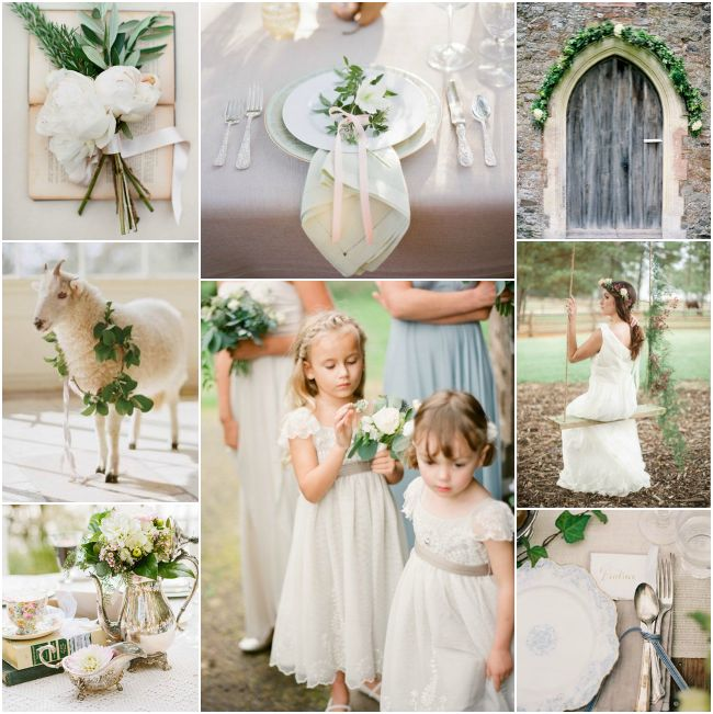 English Vintage Garden Wedding