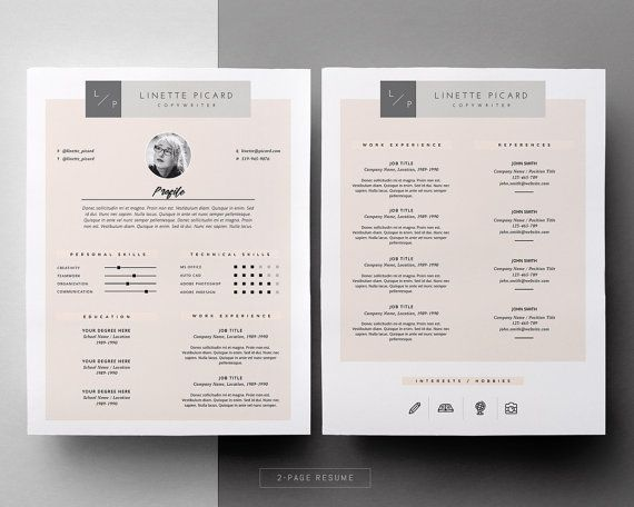 129 best resume design creative images on Pinterest Best resume - apple pages resume templates