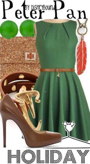 Peter Pan Holiday - DisneyBound
