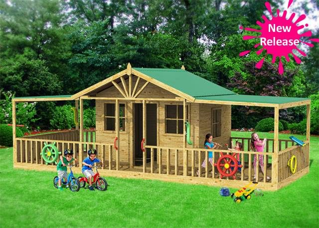 The amazing Cairns Castle brand new release #cubbyhouse is awesome. So much play!!!!  Price: $2697.00  Size: 6000 x 2400 http://www.cubbykraft.com/cubbyhouses/Cairns-Castle.htm