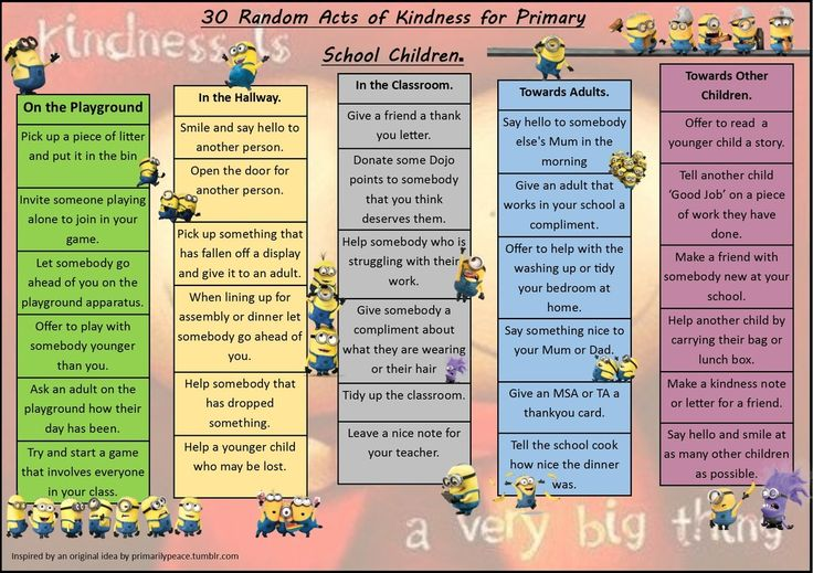 Minions Random Acts of Kindness