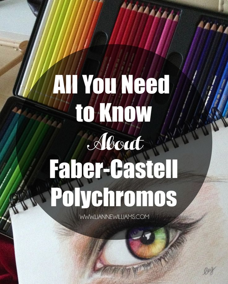 All you need to know about Faber-Castell Polychromos Colour Pencils