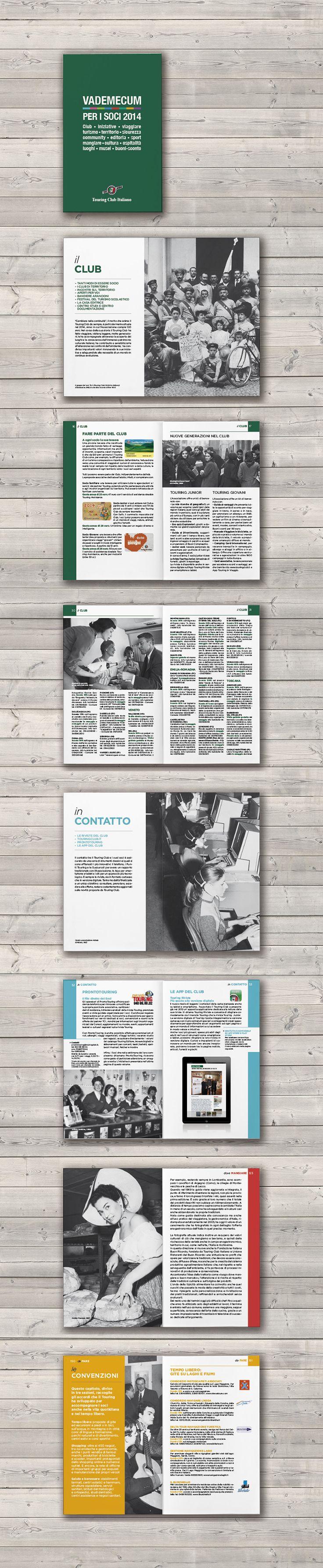 Book design / TCI Offer guide / Touring Editore